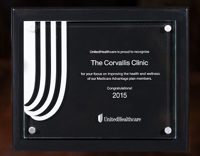 Clinic Earns Recognition For Positive Health Outcomes For Seniors The Corvallis Clinic