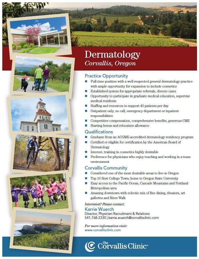Dermatology - The Corvallis Clinic