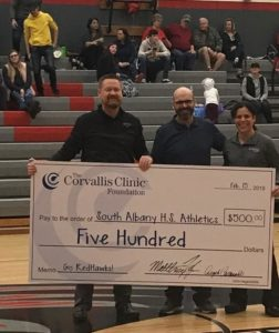 $1000 Donated to Schools